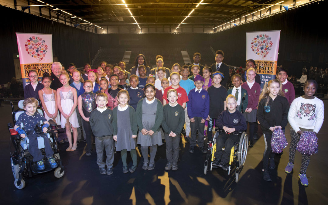 Pupils shine at city's spectacular diversity celebration