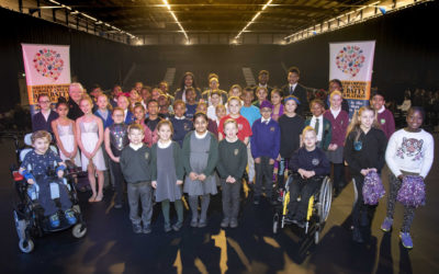 Pupils shine at city's spectacular diversity celebration