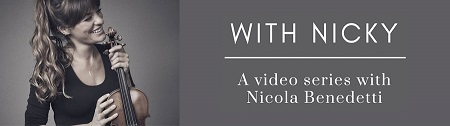 Nicola Benedetti videos come to the Charanga platform