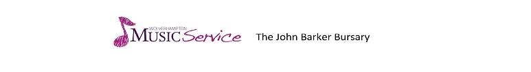 John Barker Bursary Award for students pursuing further education Music studies.