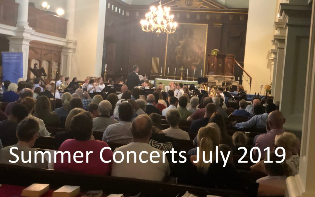 Summer Concert Series July 2019
