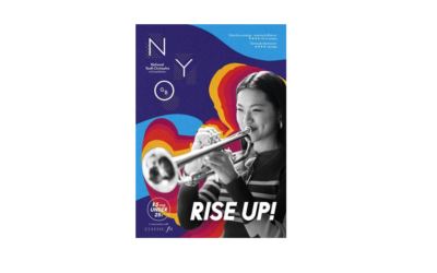 "Rise Up! The National Youth Orchestra of Great Britain with an additional ""Come & Play"" activity for Musicians Grade 4 and above."
