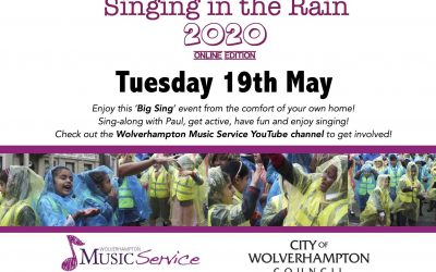 Singing In The Rain 2020 Online Edition – Yes it's back!